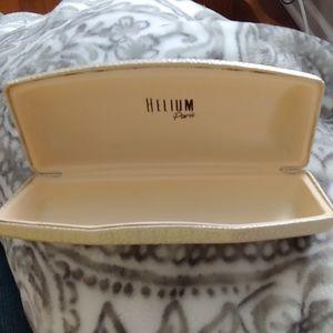 Excellent Condition Helium Paris Glass Case!!!